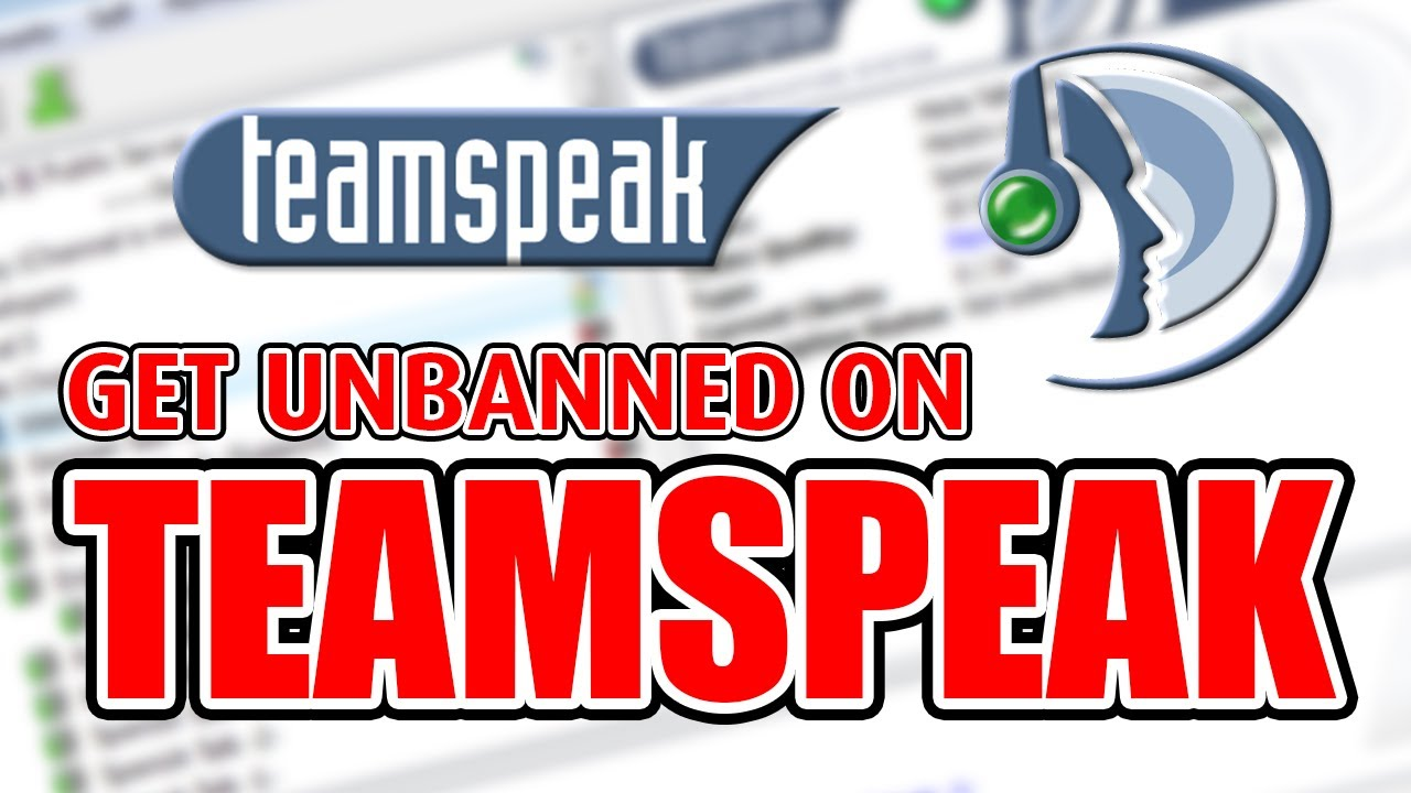 TEAMSPEAK BAN BYPASS 2019 - GET UNBANNED ON ANY TS3 SERVER [TUTORIAL]