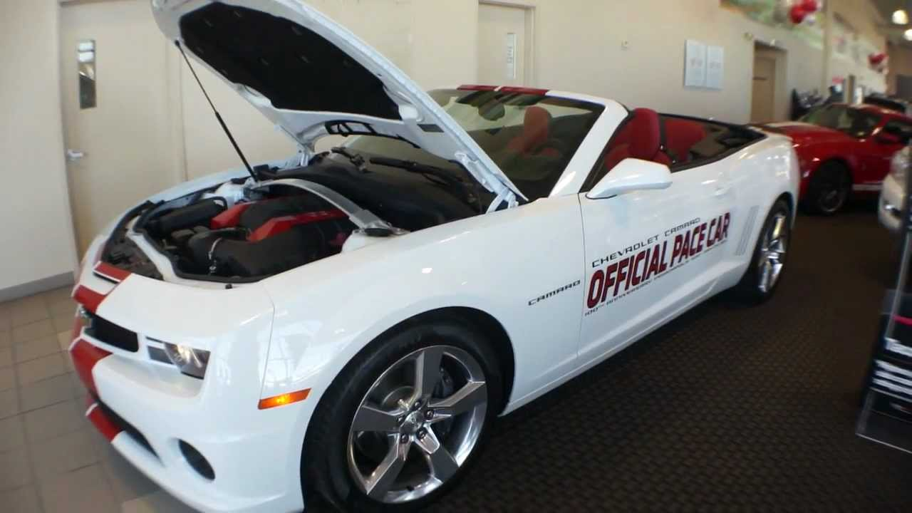 2011 chevrolet camaro pace car convertible for sale only 1 400 miles youtube. Black Bedroom Furniture Sets. Home Design Ideas