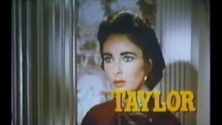 Raintree County (1957) trailer Elizabeth Taylor