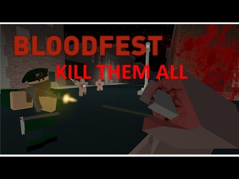 KILL THEM ALL ( Bloodfist roblox