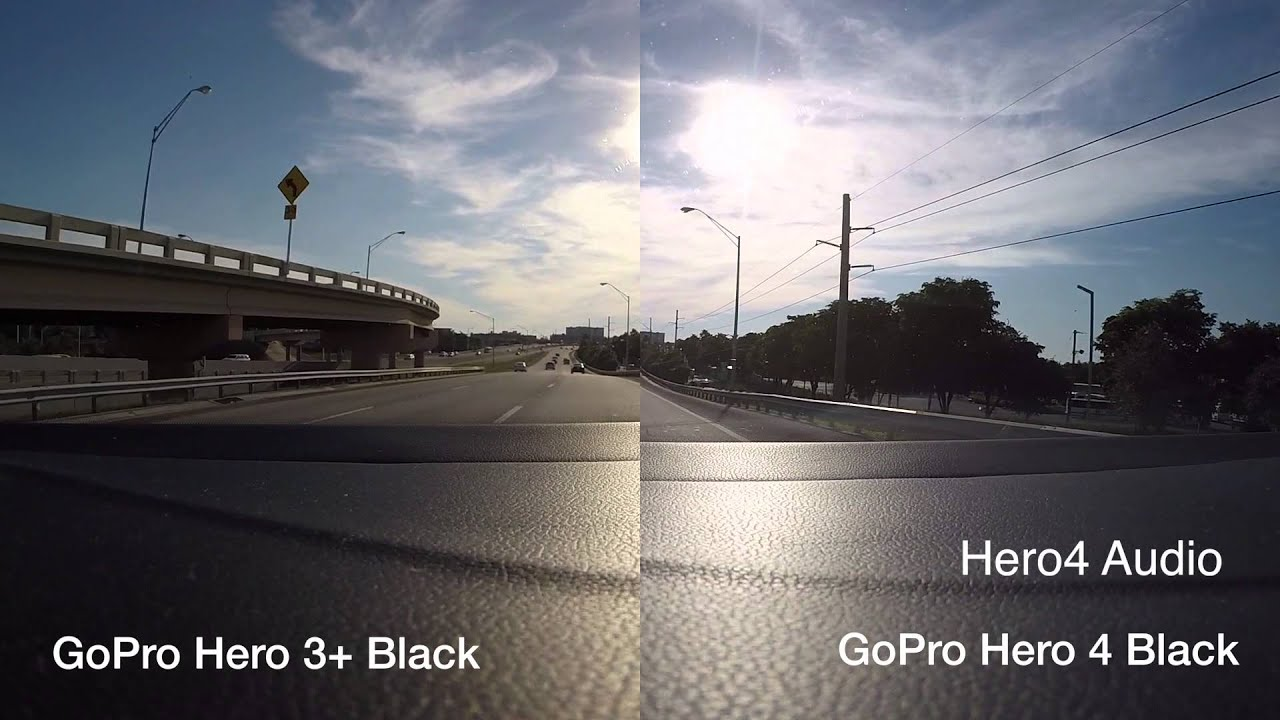 GoPro Hero 3 Black Edition Vs Hero 4 Black Edition First