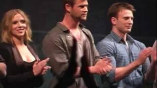 The Avengers Cast @ Comic Con!