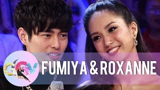 Fumiya thinks Roxanne Barcelo's way of speaking is weird | GGV