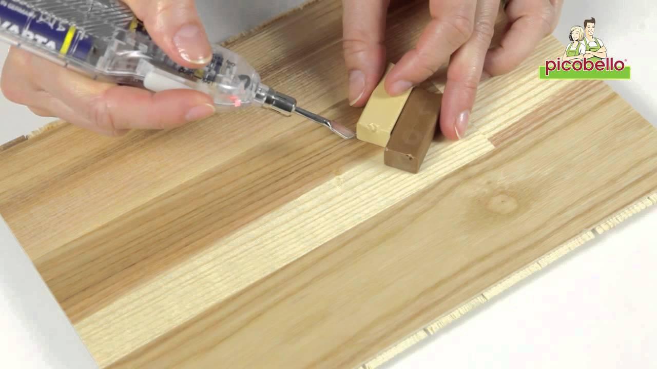 Come Sistemare Una Porta In Legno picobello / kit di riparazione premium, legno laccato - graffi, piccoli  fori, ammaccature e danni