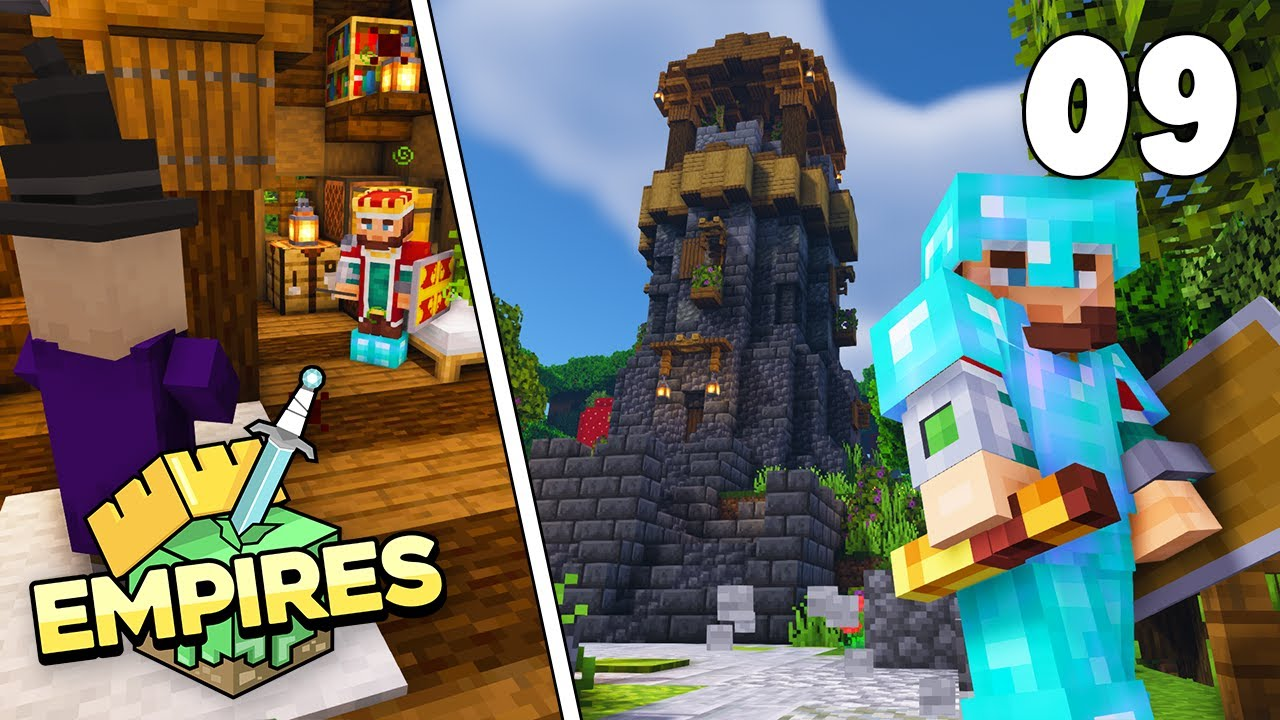 Empires SMP - WITCHES & WATCHTOWERS!!! - Ep.9 [Minecraft 1.17 Let's Play]