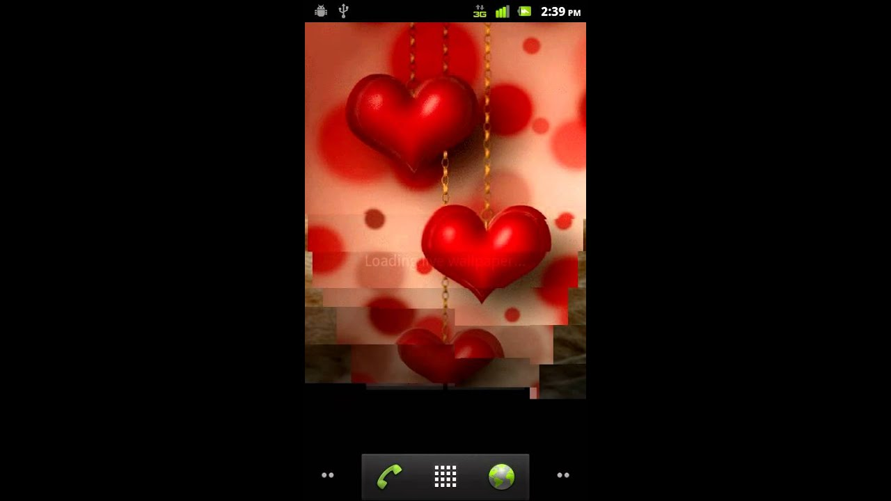 Beating Hearts Live Wallpaper Android Market