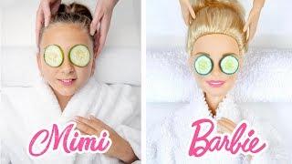 MIMI LAND imita el instagram de BARBIE - Me convierto en muñeca 💜