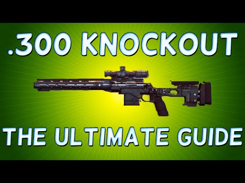 The EASY way to unlock the Battlefield Hardline .300 KNOCKOUT