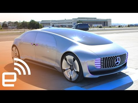 Riding Mercedes' self-driving car, the F 015  Engadget
