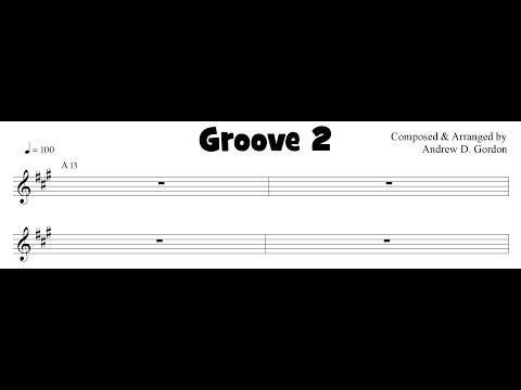 Funk Play-A-Long Groove 2 with 2 Riffs to practice with.