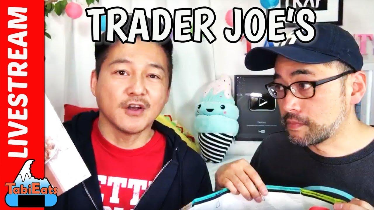 Trader Joe's Unboxing LIVESTREAM