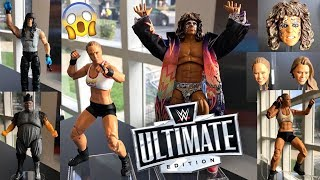 NEW WWE ULTIMATE EDITION ACTION FIGURES! + ELITE 68!