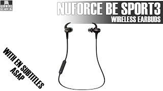 Bezdrátová sluchátka - NuForce Be Sport 3 - Recenze (CZ)