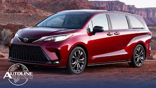 Toyota Reveals New Sienna & Venza; Why More Suppliers Will Go Bankrupt - Autoline Daily 2840