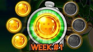 HOW TO GET THE 4 STAR PORUNGA DRAGON BALL 250 MILLION DOWNLOADS WEEK 1
