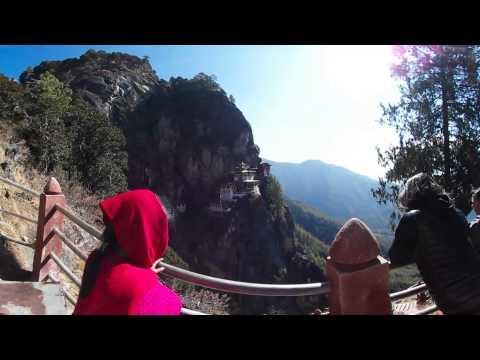 Testing VR360 at Tigers Nest in Bhutan