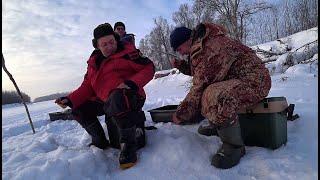 ОКУНИ КАБАНЧИКИ Крупный ЯЗЬ Рыбалка со льда для тех кто уже точит безмотылки и ждет первый лед