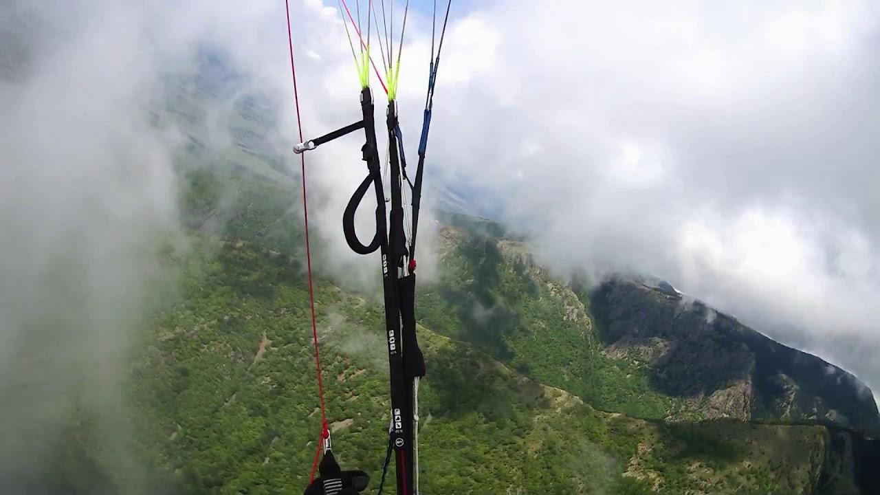 Полет в облаках. Сопот, Болгария - YouTube