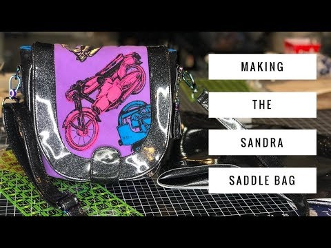 Making the Sandra Saddle Bag by Swoon Sewing Patterns