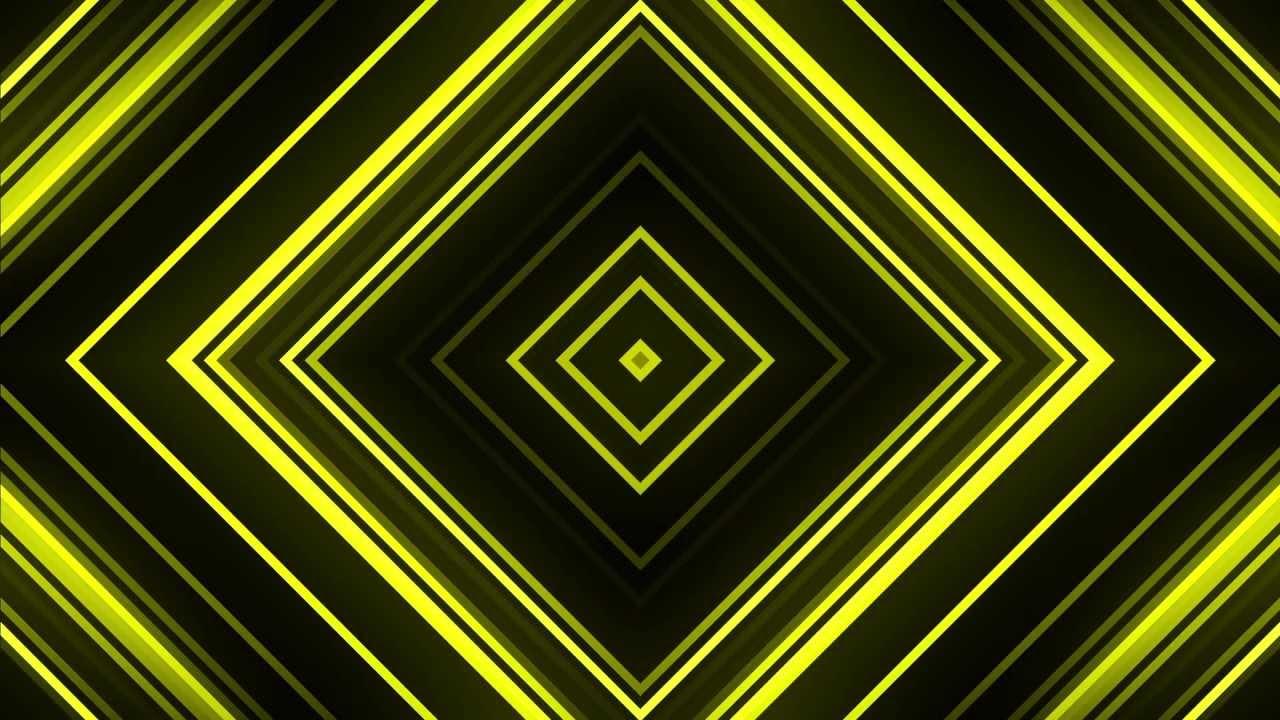Yellow Diamonds - HD Background Loop - YouTube