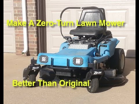 Make A Dixon Zero-Turn Mower Better Than Original