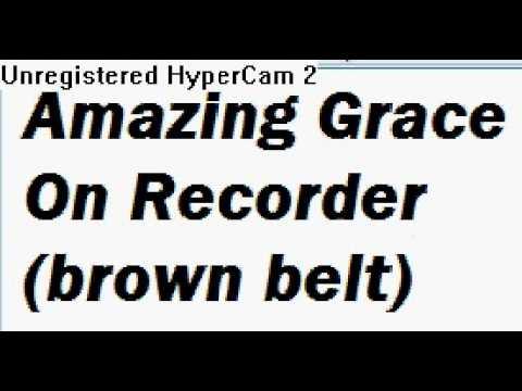 Amazing Grace | Recorder Sheet Music