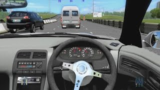 City Car Driving - Nissan Silva S14 | Street Drifting