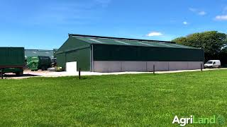 A new calf house with a capacity for 140 calves in Co. Cork