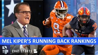 Mel Kiper's Top 5 RB Prospects For The 2021 NFL Draft + Other Running Backs To Watch During CFB