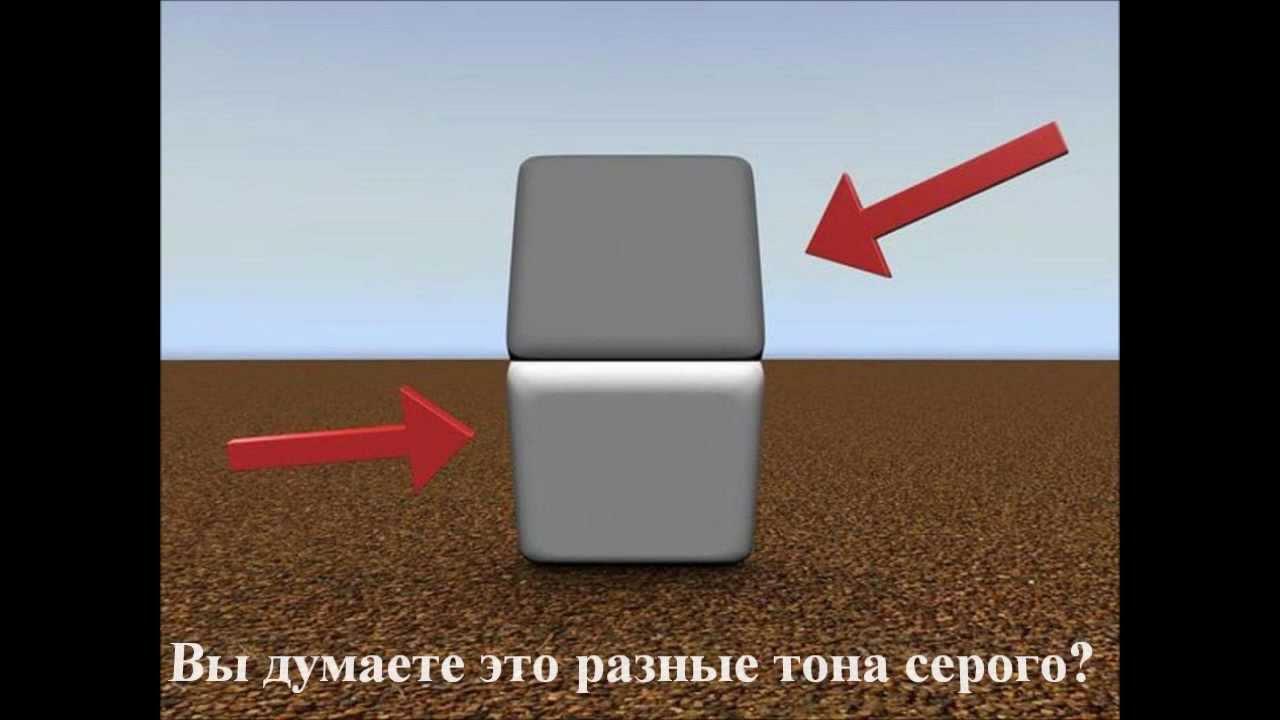фото обман зрения иллюзии