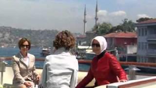 Suriye Cumhurbaşkanı Beşar Esad ve eşi - 08.05.2010