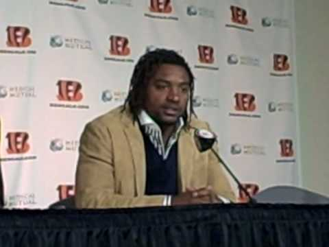 Cedric Benson press conference 2