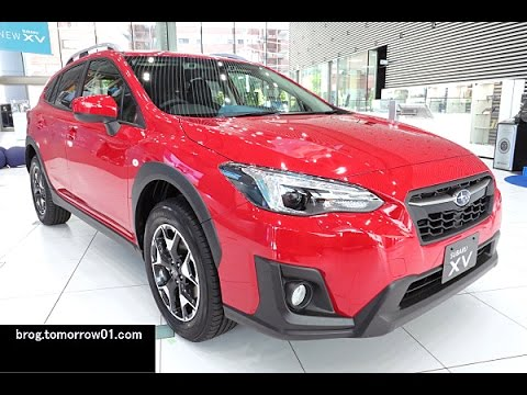 What Is Subaru Eyesight >> Subaru XV 1.6i-L EyeSight : Red - YouTube