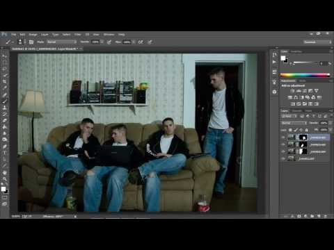 How To Clone Yourself In Photoshop Cs6 Photoshop Video Tutorial