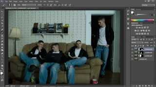 How to Clone yourself in Photoshop CS6