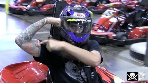 As I Lay Dying races at Pole Position Raceway in Las Vegas, NV