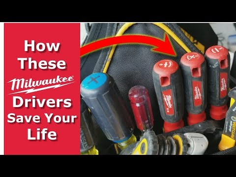 How These Milwaukee Screwdrivers Save Your Life, Electricians Tools