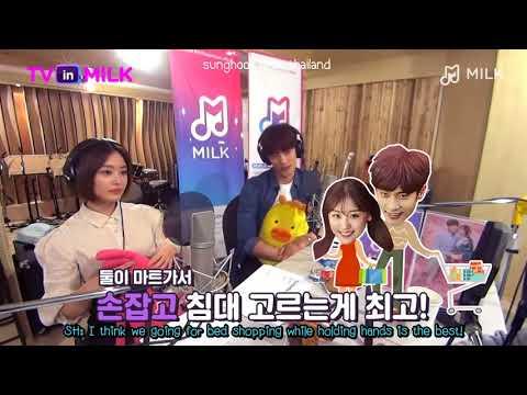 [EngSub] Sung Hoon & Song Ji Eun @ TVinMilk's Preview