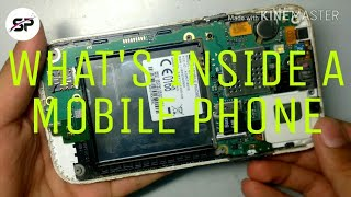 WHATS INSIDE A MOBILE PHONE?