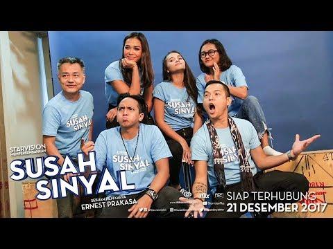 SUSAH SINYAL Media Visit di Talk Show Sarah Sechan-Universitas UNJ-WIB Net.TV & KapanLagi.com