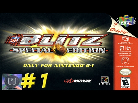 NFL Blitz: Special Edition! Part 1 - YoVideogames