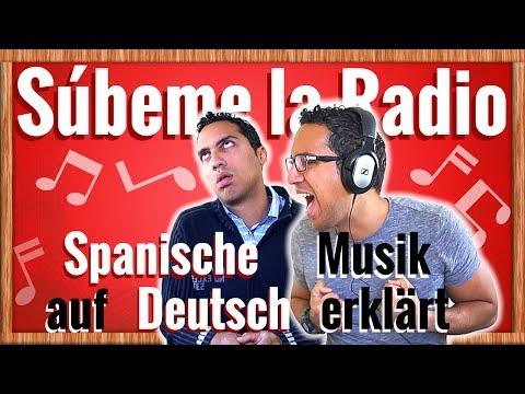 """""""Súbeme la Radio"""" auf Deutsch erklärt – Spanisch lernen mit Musik"""
