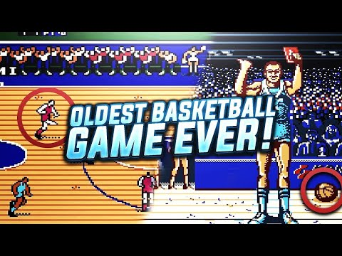 THE WORLD'S OLDEST BASKETBALL VIDEO GAME IS PRICELESS!