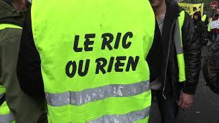 Gilets Jaunes Acte 26 : forte pluie, faible mobilisation (11 mai 2018, Paris)