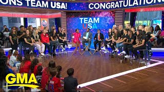 US Women's National Team talks upcoming parade, Olympics l GMA