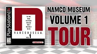 Namco Museum Vol. 1 Museum Tour