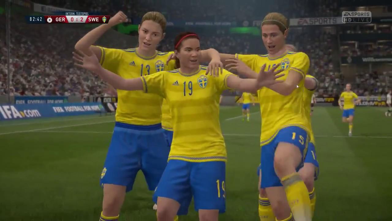 Deutschland Vs. Schweden