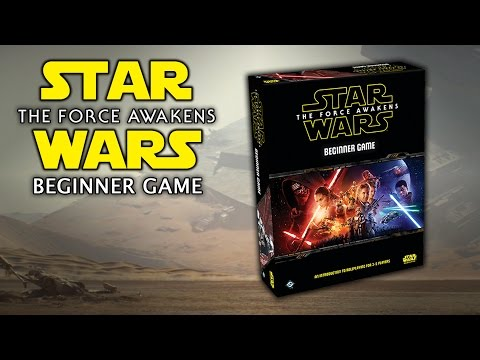 Star Wars: The Force Awakens - Beginner Game - Review / Overview