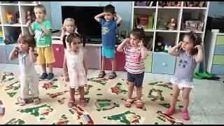 Крайот: урок английского языка в детском саду