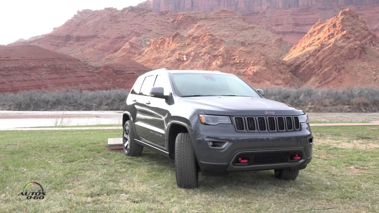 2017 Jeep Grand Cherokee Trailhawk presentation in Moab Utah